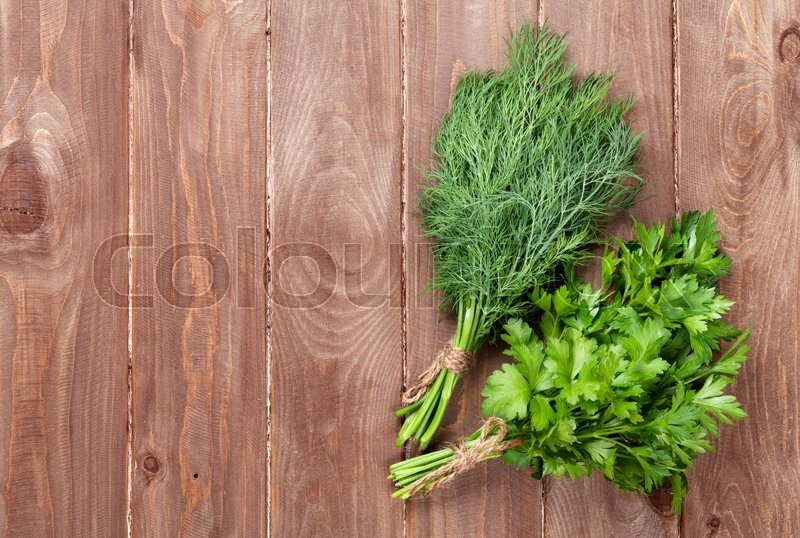 how to keep dill and parsley fresh
