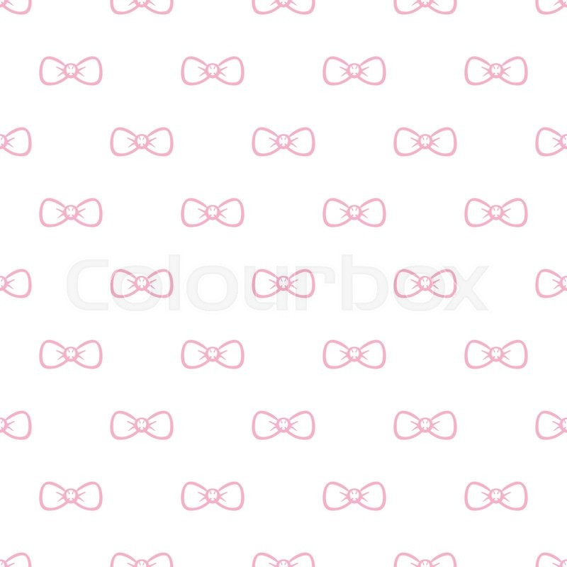 vector cute minimalistic bow tie seamless pattern simple. Black Bedroom Furniture Sets. Home Design Ideas