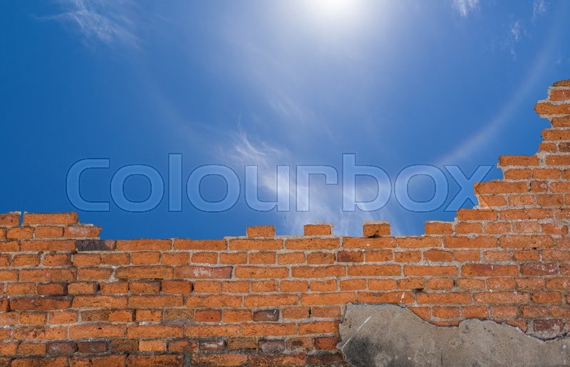 Background Of Old Vintage Brick Wall Wallpaper Pattern