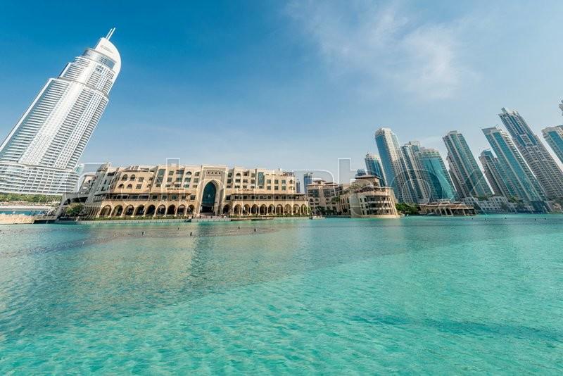 Dubai january 10 2015 the address hotel on january 10 for Ten star hotel in dubai