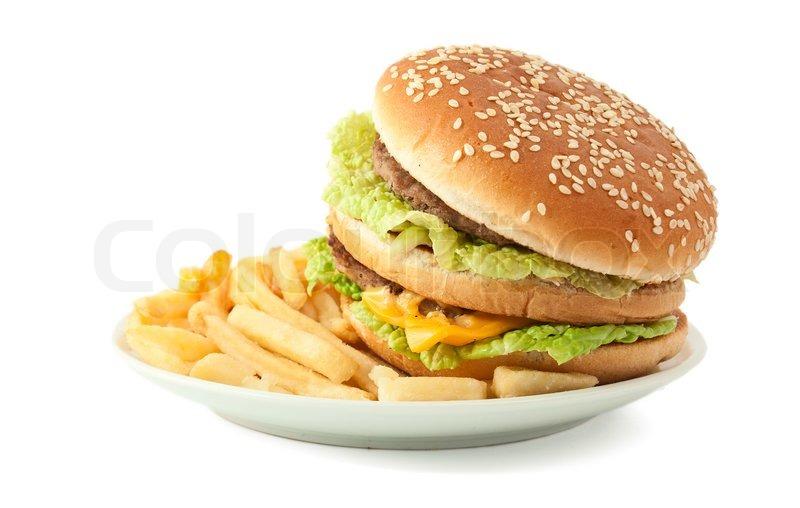 hamburger and fries wallpaper - photo #39