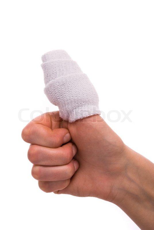 1503693-974399-white-medicine-bandage-on