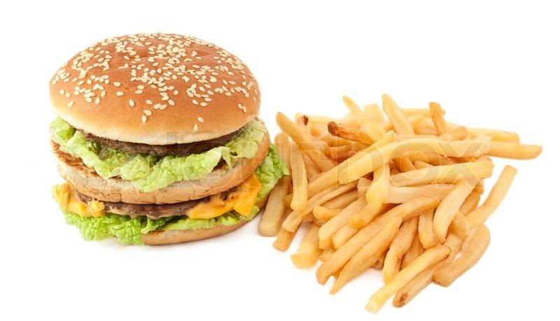 hamburger and fries wallpaper - photo #10