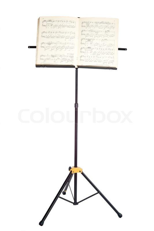 Подставка для нот чертеж