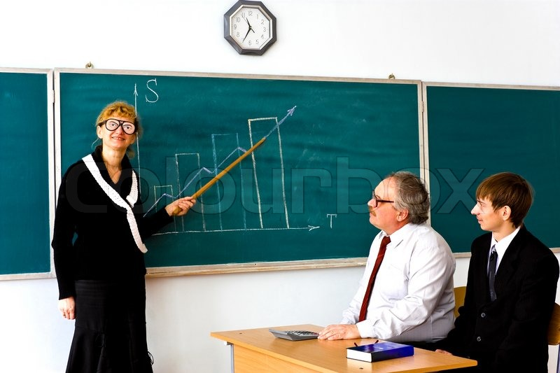 Farcical scene in the classroom stock photo colourbox for Farcical scenes