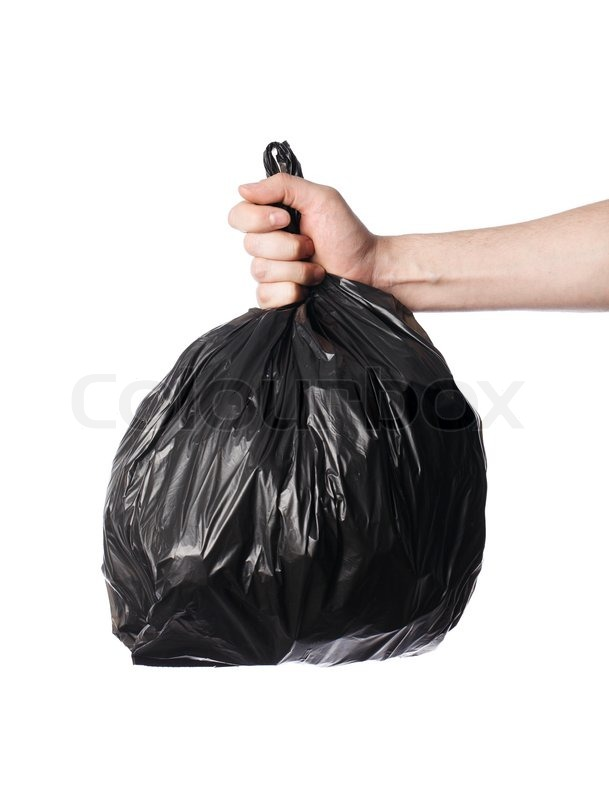 Plastic Trash Bags Black Plastic Trash Bag in