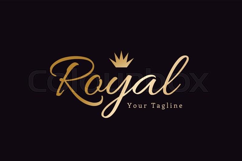 Royal Logo Vector Template Hotel Logo Kings Symbol