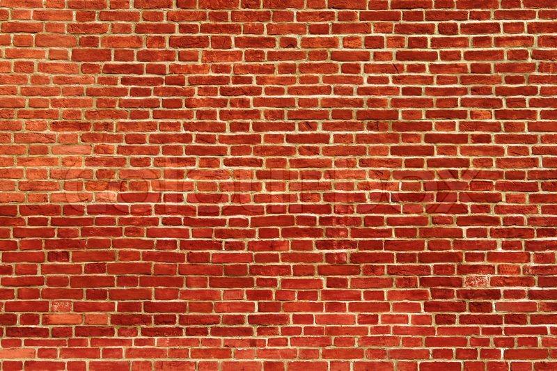 Brick Wall Background Stock Photo Colourbox