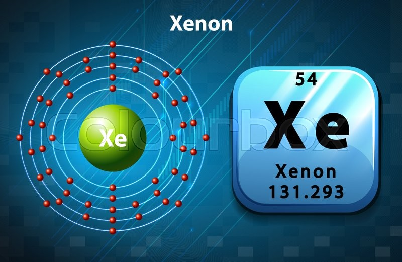 Atomic Diagram Of Xenon - Custom Wiring Diagram •