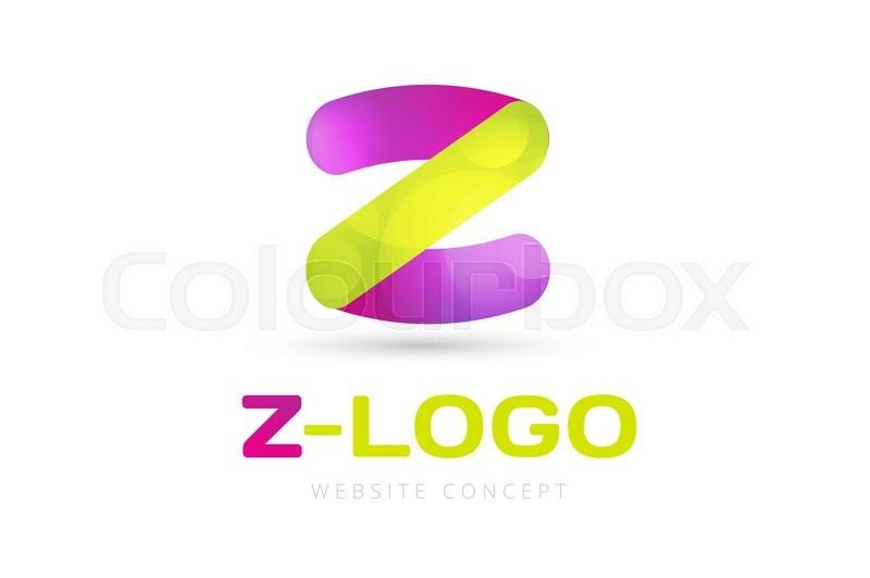 Abstract Z character vector logo icon template. Power z vector, z ...
