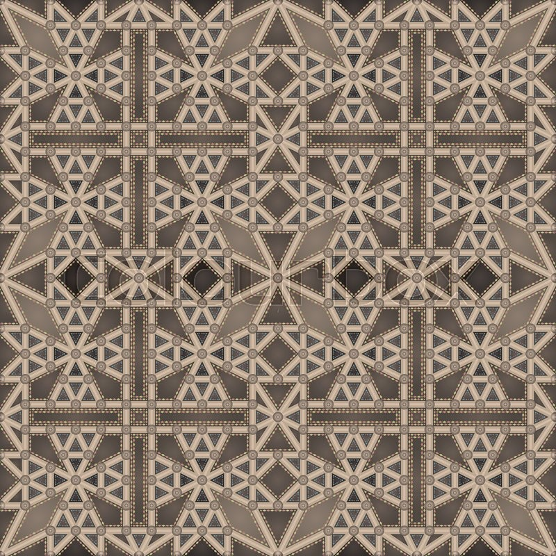 Abstract gothic ceiling suitable for multiplying, vector