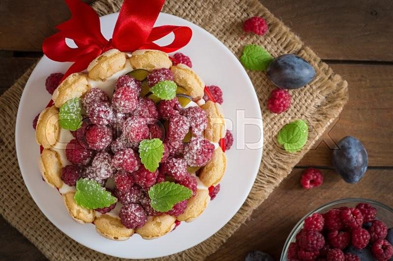 Торт из печенья у донцовой