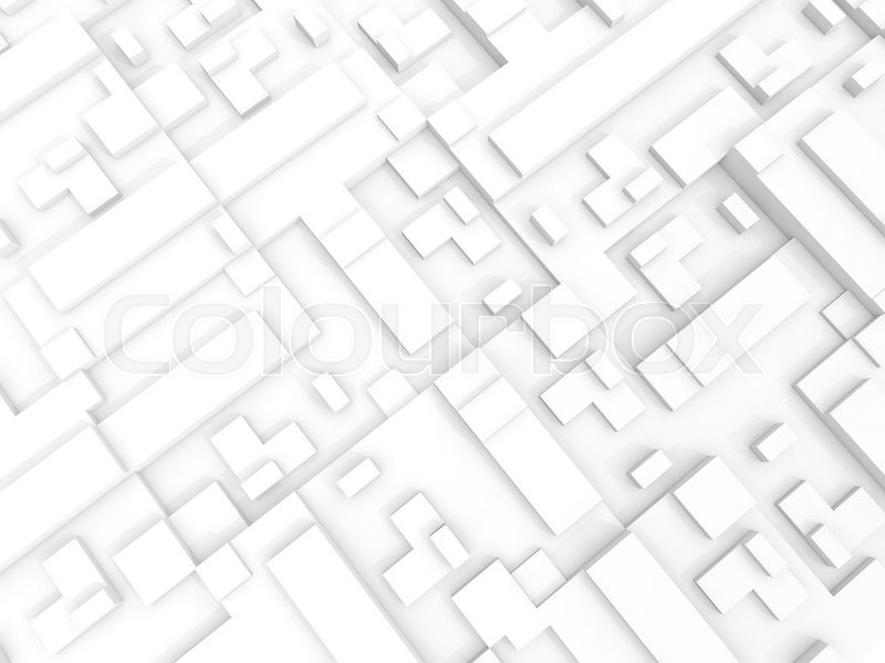 abstract white digital 3d background texture with chaotic