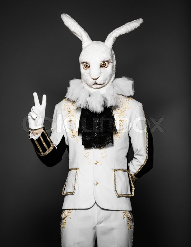 bunny Black man easter