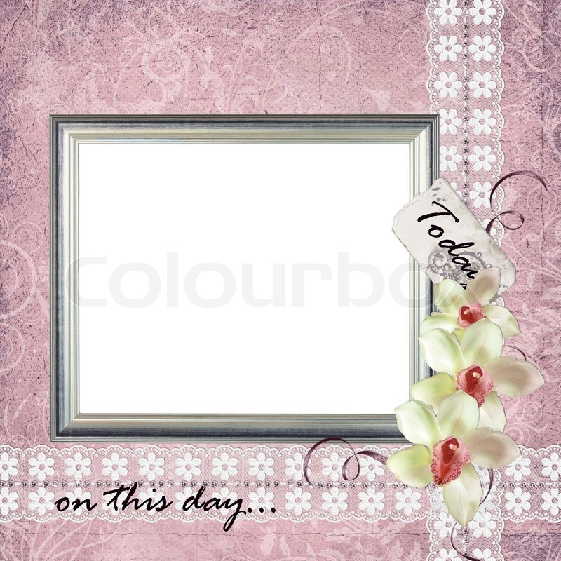 Card for invitation or congratulation or frame | Stock Photo | Colourbox