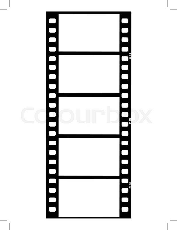outline illustration of film strip stock vector colourbox rh colourbox com film strip vector graphic free film strip vector png