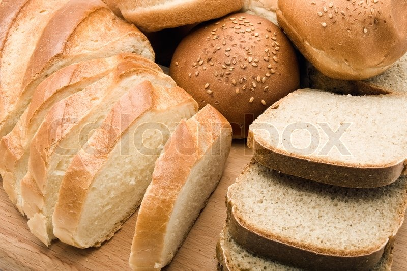 Different Types Of Bread Background