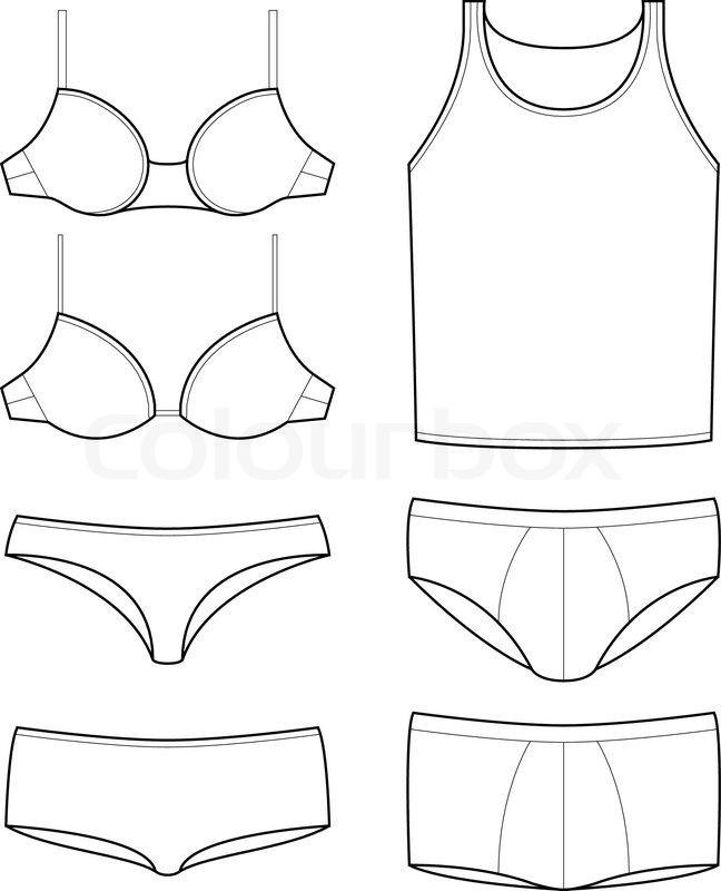 Boxer Underwear Templates For Design
