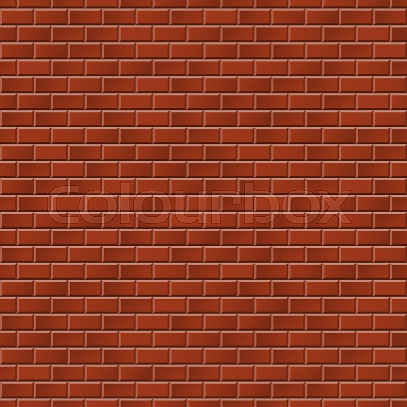 seamless red stone wall background for architectural