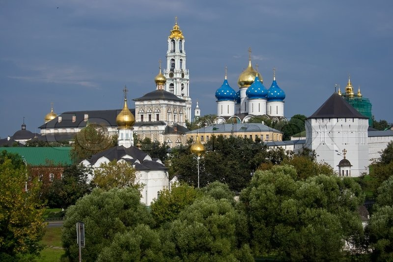 Stock image of 'Sergiev Posad - One of the greatest Russian monasteries not far from Moscow'