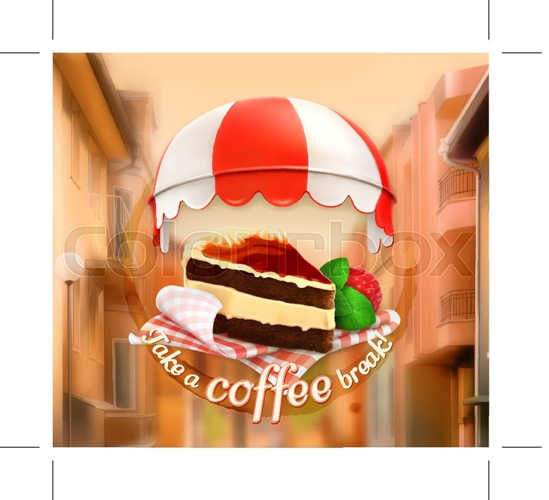 Coffee cake an invitation to a cup of coffee breakfast or lunch stock vector of coffee cake an invitation to a cup of coffee breakfast stopboris Image collections