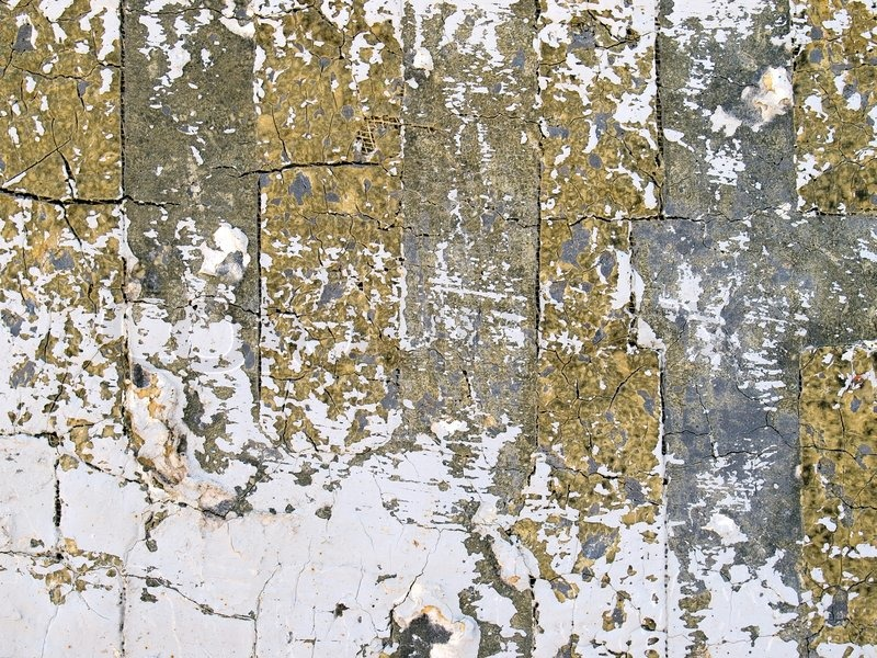 Abstract grungy painted cracked texture closeup background Stock