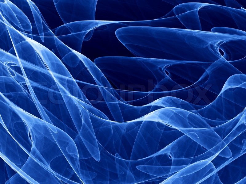 Blue Swirl Ipad Wallpaper Background And Theme: Deep Blue Theme With Smooth - Abstract ...
