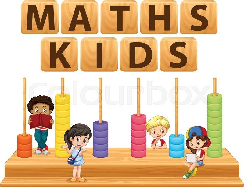 Children and math toy illustration | Stock Vector | Colourbox