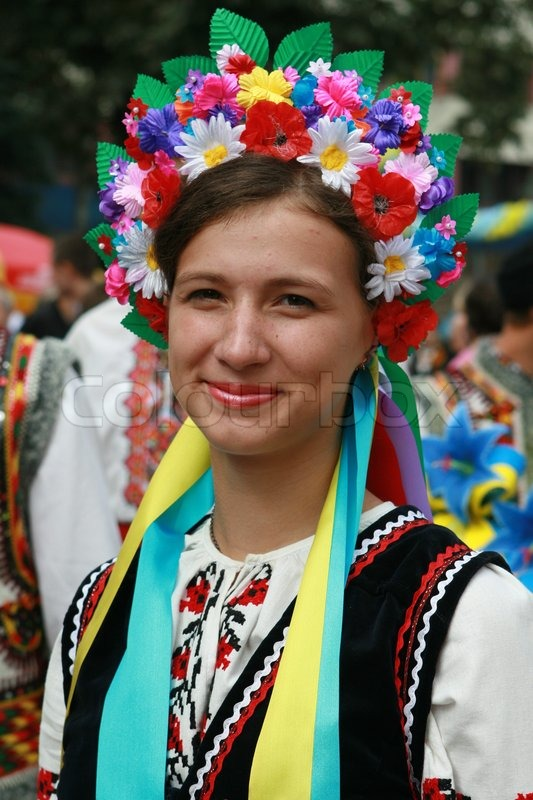 Aus einem ukrainischen mädchen