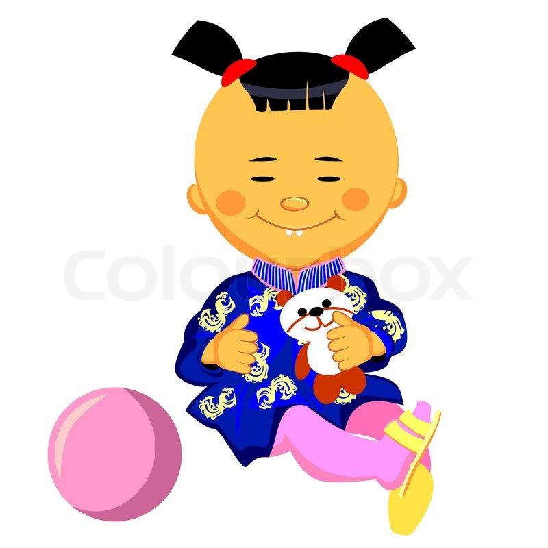 kinesisk pige stik
