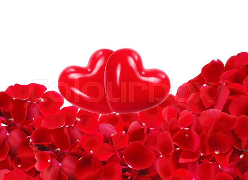 Photos of beautiful pictures of roses and hearts