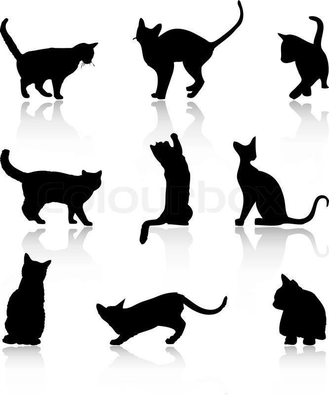 Cat Tattoo Design Templates