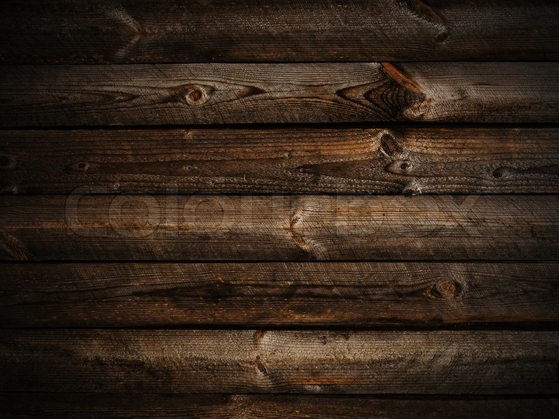Photo Of Horizontal Abstract Dark Wooden Background With Light