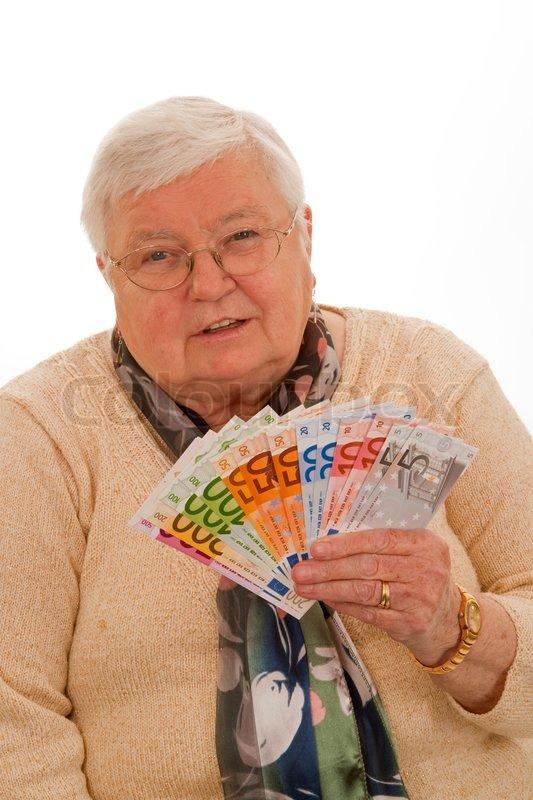 gammel kvinde