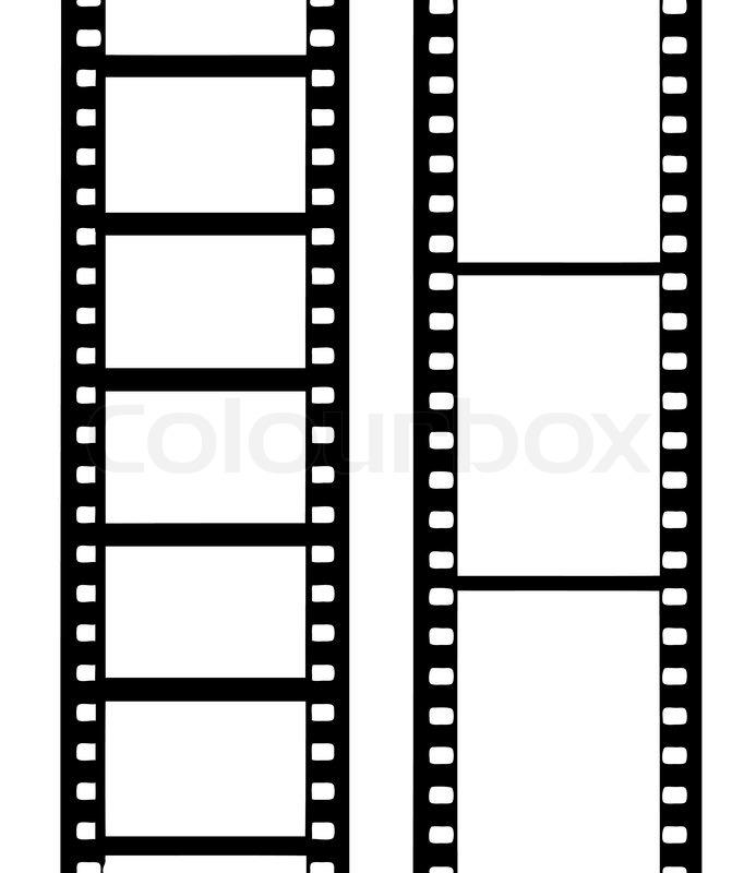Vector silhouette camera film | Stock Vector | Colourbox