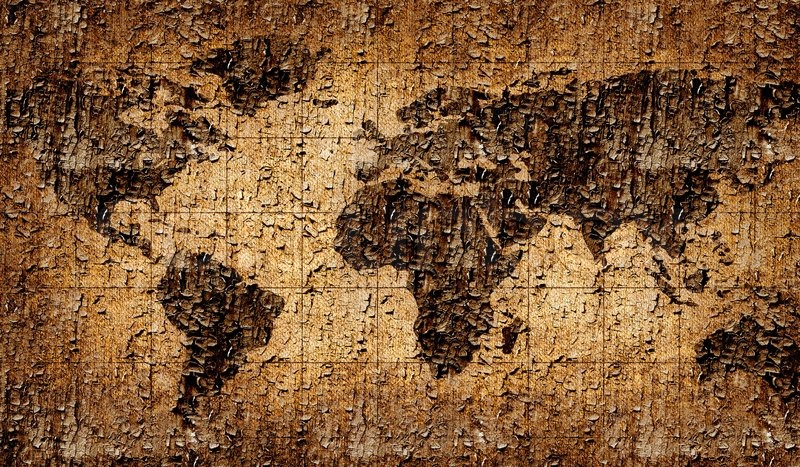 Cracked ancient world map stock photo colourbox cracked ancient world map stock photo gumiabroncs Image collections