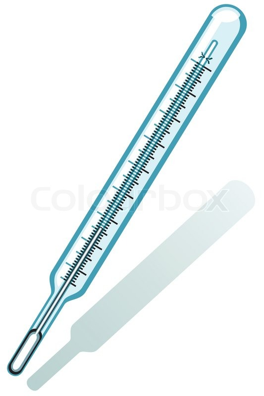 Clinical thermometer icon on a white background | Vector | Colourbox Nursing Symbol Design