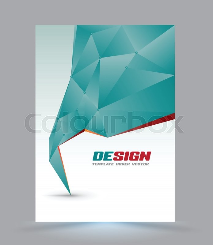 Cover page layout template polygon abstract speech style vector stock vector of cover page layout template polygon abstract speech style vector illustration accmission Gallery