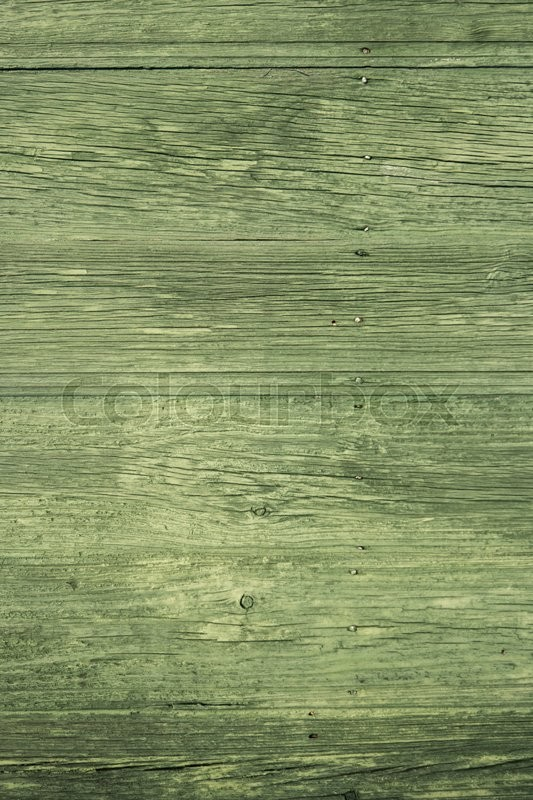 Green Painted Wood Old Aged Texture Stock Photo Colourbox