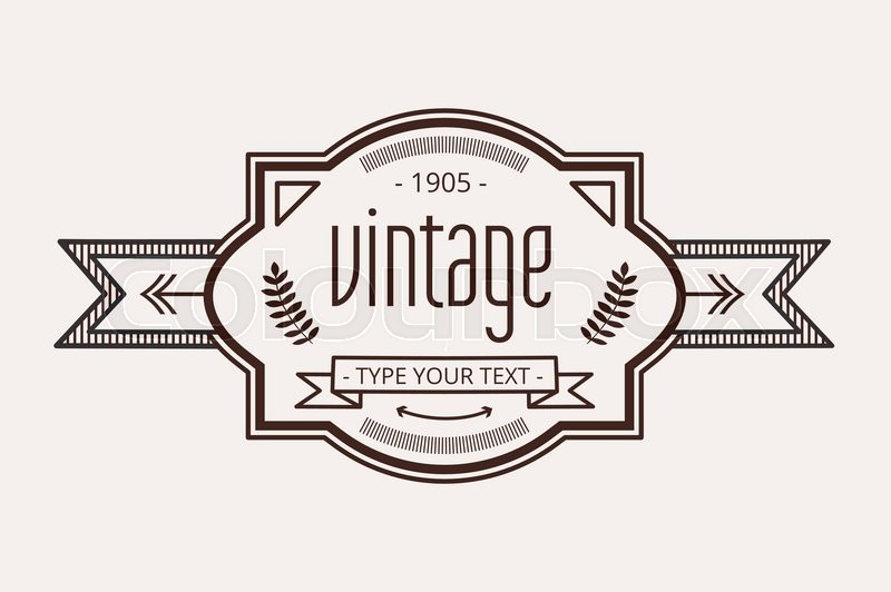 Vintage old style logo icon template. Letter H logo. Royal hotel ...