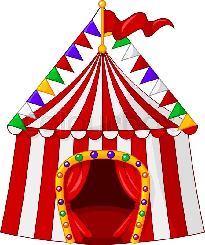 cartoon circus tent isolated on white background stock amusement park clip art free amusement park clip art free