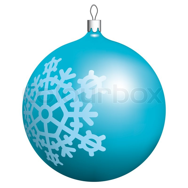 Christmas Ball For Winter Design