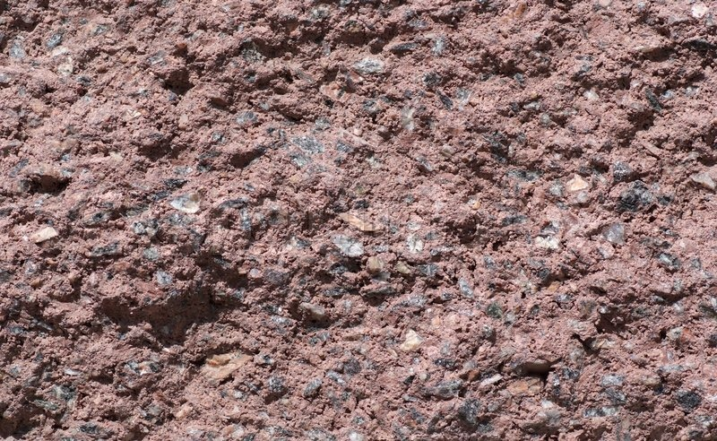 Stock Image Of Texture Wall Made Small Pieces Granite And Stone