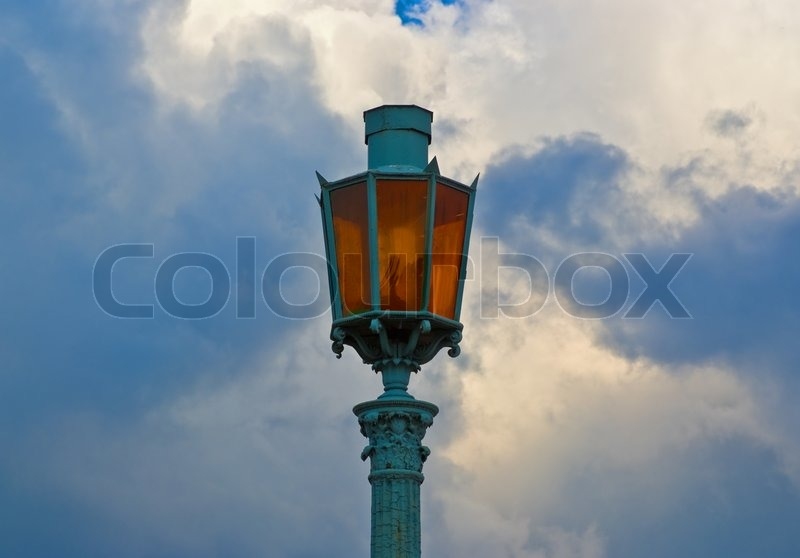 Street Lamp Background 'vintage Street Lamp With