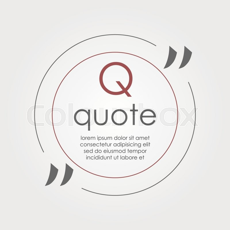 Citation text box frame for decoration quote and other information quote blank template quote bubble empty template business card template paper sheet information text print design quote form vector reheart Image collections