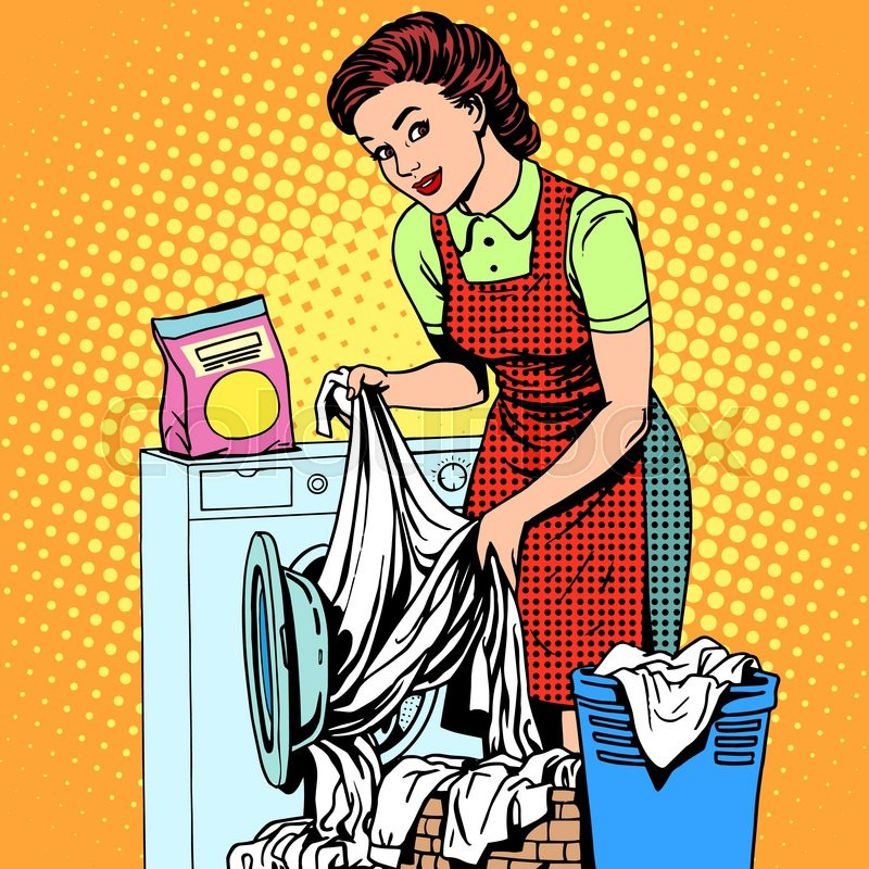how to get clean clothes in washing machine