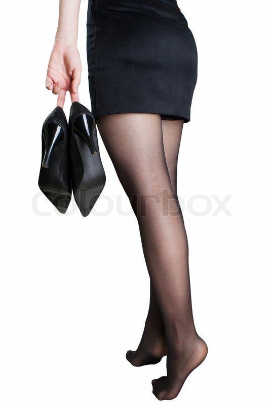 kvinder i strømpebukser