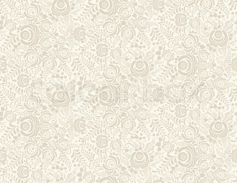 Stock Vector Of Floral Vintage Rustic Seamless Pattern Background Can Be Used For