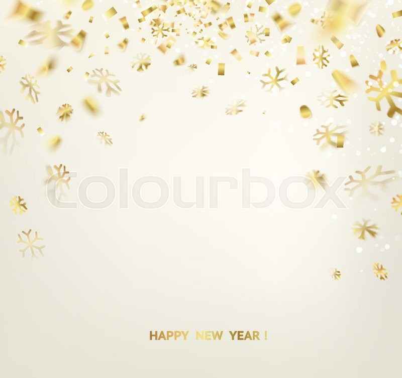 happy new year card template over gray background with golden sparks happy new year 2016 holiday card template for your design vector illustration