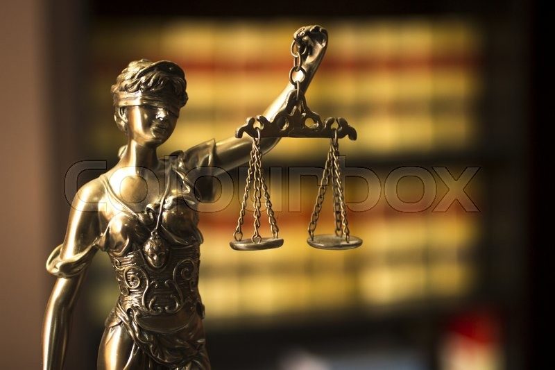 Old Legal Books Spanish Barristers Law Reports In Spain On Bookshelf Real Life Solicitors Attorneys Office Library